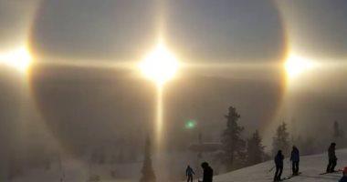 ناسا تشرح أسباب ظهور 3 شموس فى السويد الشهر الماضى -