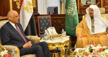 على عبد العال يلتقى رئيس مجلس الشورى السعودى ضمن زيارته للمملكة (صور)