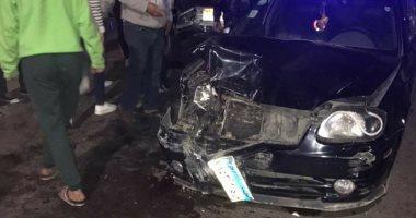 """مصرع شخصين فى حادث تصادم بمدينة """"السادات منوفية"""""""