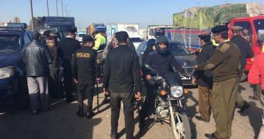ضبط 4 سائقين من متعاطى المخدرات فى حملة مرورية بالإسماعيلية