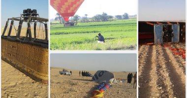 ننشر أسماء المتوفى والمصابين الأجانب فى حادث ارتطام بالون طائر بالأقصر