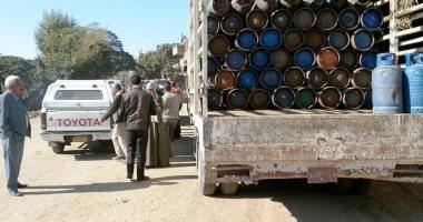 محافظ سوهاج: توفير 900 اسطوانة بوتاجاز لقرية البطاخ بالمراغة