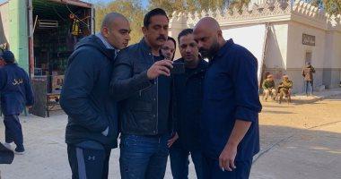 """أمير كرارة يصور مشاهد الأكشن بـ""""كلبش 2"""" فى مدينة الإنتاج الإعلامى"""