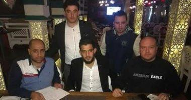 النادى المصرى يتعاقد مع المدافع السورى عبد الله الشامى لموسم ونصف