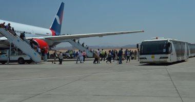 لجنة خبراء النقل والطيران الروسية تستكمل التفتيش على إجراءات مطار الغردقة