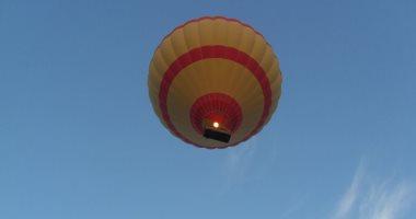 إقلاع 9 رحلات بالون طائر علي متنها 194 سائح أجنبي بالأقصر