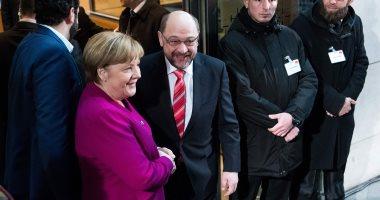 الحزب الاشتراكى الألمانى يعلن نتائج تصويت أعضائه حول ائتلاف حكومى مع ميركل