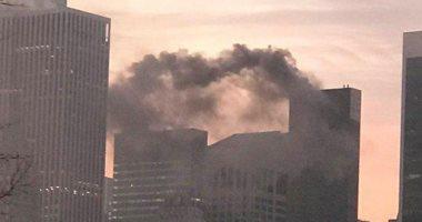 السيطرة على حريق برج ترامب فى نيويورك وإصابة شخصين