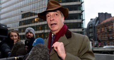نايجل فاراج يطالب بالمشاركة فى محادثات خروج بريطانيا من الاتحاد الأوروبى