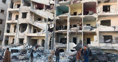 إصابة 16 شخصا واستهداف مستشفى فى قصف لقوات سوريا الديمقراطية بمدينة حلب -