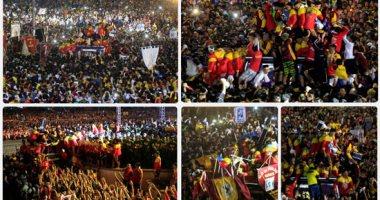 ملايين الفلبينيين يشاركون بموكب تمثال الناصرى الأسود للحصول على البركة