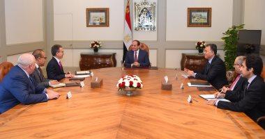 السيسى يؤكد انفتاح مصر على التعاون مع جميع الشركات العالمية
