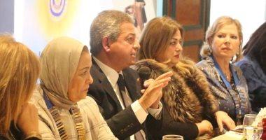 """وزير الشباب والرياضة يلتقى أعضاء نادى """"إينرويل"""" جاردن سيتي"""