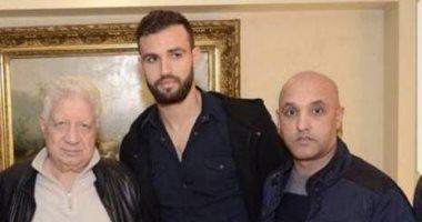 حمدى النقاز ومرتضى منصور ونبيل أبو زيد