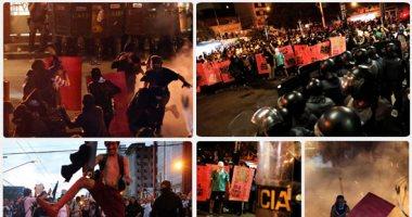اشتباكات عنيفة بين الشرطة البرازيلية ومحتجين على ارتفاع أجرة المواصلات