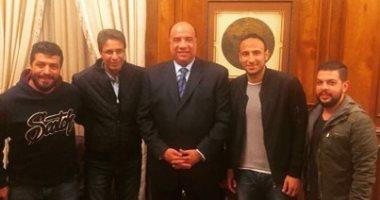 الاتحاد السكندرى يتسلم استغناء ثنائى المقاولون العرب