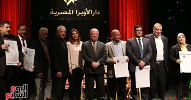 وزير الثقافة يكرم الفائزين بجائزة إحسان عبد القدوس
