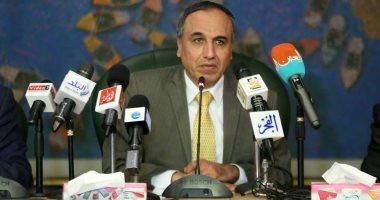 وضع حجر أساس مستشفى الصحفيين بعد توقيع برتوكول مع الانتاج الحربى