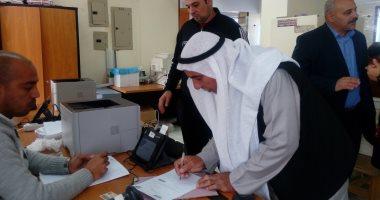 صور.. 2328 توكيلاً للرئيس السيسى بجنوب سيناء ولا توكيلات لمرشحين آخرين