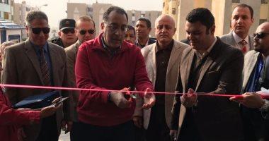 وزير الإسكان يفتتح المركز التكنولوجى لخدمة المواطنين بمدينة الشروق
