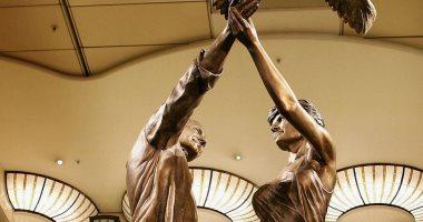"""""""تلجراف"""": محمد الفايد يسترجع تمثال ابنه مع الأميرة """"ديانا"""" من متاجر """"هاروودز"""""""
