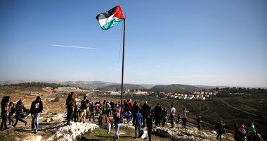 صور.. مظاهرات تضامنية مع عهد التميمى فى قرية النبى صالح بفلسطين