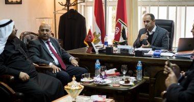 الأهلى يستقبل وفدا من مجلس النواب البحرينى
