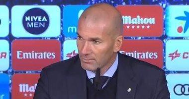 زيدان: قدمنا مباراة أفضل من فياريال ولكن الكرة رفضت دخول المرمى