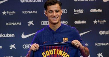 كوتينيو يقترب من ارتداء القميص رقم 7 فى برشلونة بعد رحيل توران