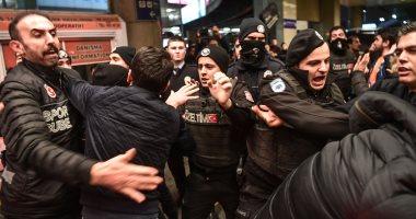 صور.. اشتباكات بين الجماهير التركية والشرطة فى استقبال أردا توران
