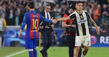 ميسى يفضل تعاقد برشلونة مع ديبالا عن جريزمان