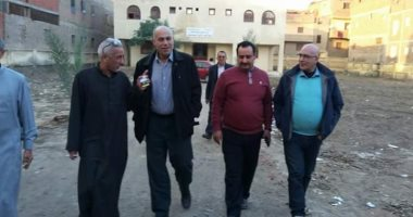 مدير الإدارة المركزية ورئيس مدينة المحلة يتفقدان المشروعات الخدمية الجديدة