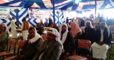 شيخ قبيلة العمارية : نؤيد الرئيس السيسى للترشح لفترة ثانية