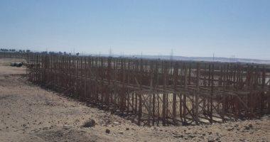 صور.. توقف بناء محطة صرف بمركز المنشأة بسوهاج منذ 2011 ومطالب باستكمالها