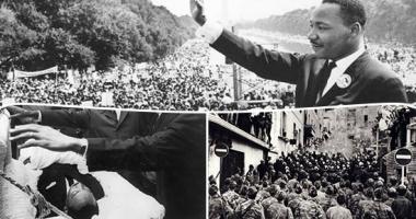 """زى النهاردة.. مارتن لوثر كينج يلقى خطابه الشهير """"لدى حلم"""""""
