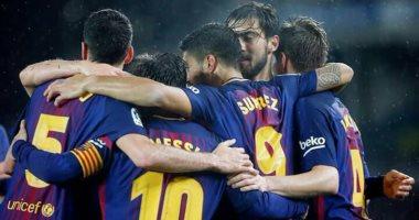 8 غيابات عن قائمة برشلونة أمام إسبانيول بكأس إسبانيا -