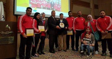 رفع الأثقال و الرماية يطيرون إلى المغرب للمشاركة فى الألعاب الإفريقية