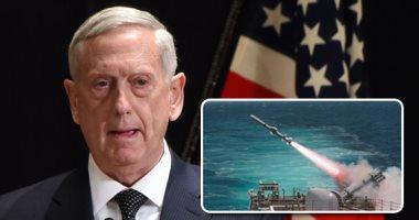 وزير الدفاع الامريكى: الضربة رسالة لنظام الأسد..وتحركنا لتفادى كارثة أسوء بسوريا