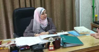 فاطمة الخياط وكيل وزارة التضامن الاجتماعي بأسيوط