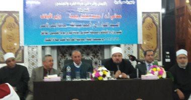 وزير الأوقاف: 120 ألف مئذنة تنادى بالحق ولا يوجد إلحاد فى مصر (فيديو) -