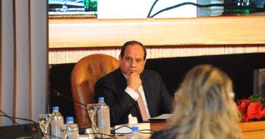 السيسى: مصر بحاجة لـموازنة 18 تريليون جنيه لكى تنهض.. وقضيتى  إنقاذ أمة  -