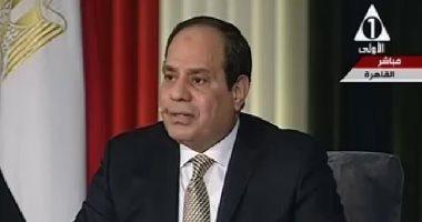 الرئيس السيسى: أنا وزير المرأة.. والكفاءة معيار الاختيار الوحيد