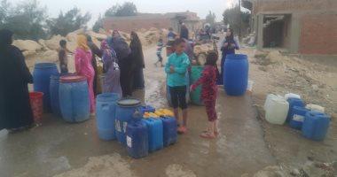 قطع المياه عن كفر شكر لإصلاح عطل بشارع جمال عبد الناصر