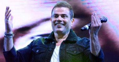"""عمرو دياب ينشر كلمات أغنية """"عندى سؤال"""" وجمهوره: أنا قلبى بحبك موعود يا هضبة"""