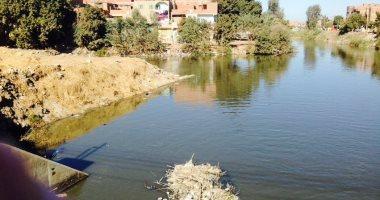 الرى: ارتفاع منسوب المياه فى مصرف البطس بالفيوم بسبب الأمطار