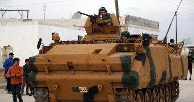 جيش الاحتلال التركى يدفع بتعزيزات عسكرية جديدة إلى الحدود المشتركة مع سوريا