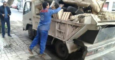 رئيس جهاز الشيخ زايد: تنفيذ 25 حملة لإزالة الإشغالات خلال 45 يومًا