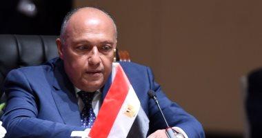 سامح شكرى يتوجه لإريتريا غدا حاملا رسالة شفهية من السيسي للرئيس أفورقى