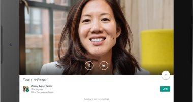 الآن يمكنك استخدام خدمة Hangouts Meet على أجهزة التابلت