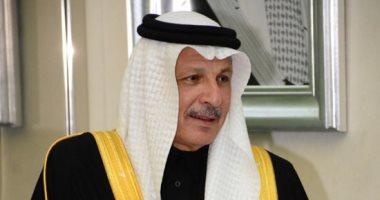 """""""قطان"""" يؤكد على متانة العلاقات المصرية السعودية فى لقائه مع رئيس البرلمان"""